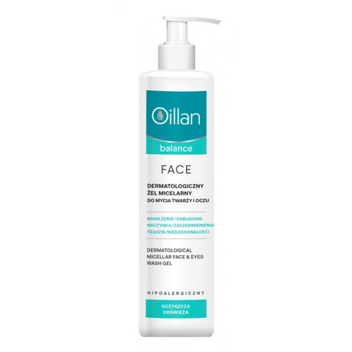 OCEANIC Oillan Balance Dermatologiczny Zel Micelarny 250 ml