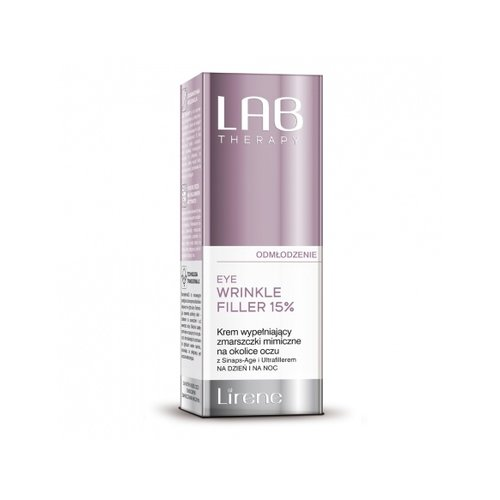 DR IRENA ERIS LAB Therapy Odmlodzenie Eye Wrinkle Filler 15% Krem Na Okolice Oczu 15ml