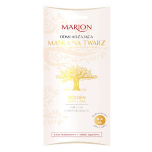 MARION Golden Skin Care Odmladzajaca Maska Na Twarz w Zlotym Placie