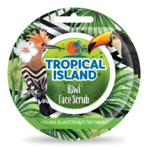 MARION Tropical Island Kiwi Exfoliation Scrub Peeling Zluszczajacy 10g