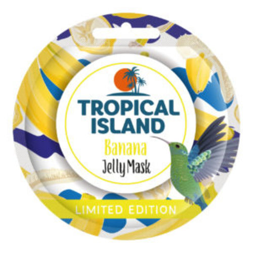 MARION Tropical Island Banana Jelly Mask Żelowa Maseczka do Twarzy 10g