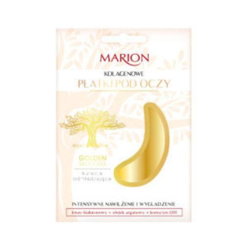 MARION Golden Skin Care Kolagenowe Płatki pod Oczy 2 Platki