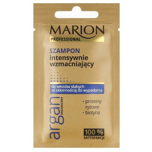 MARION Professional Szampon Intensywnie Wzmacniajacy Argan Organiczny Saszetka 10g