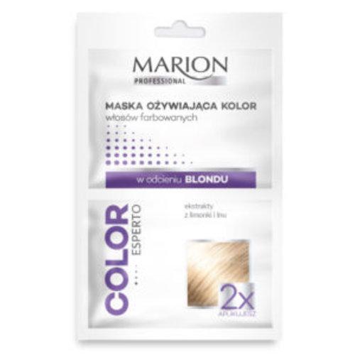 MARION Regenerująca Maska Ożywiająca Kolor Włosów Farbowanych w Odcieniu Blond 2x20ml