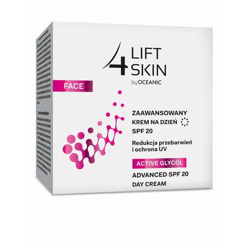 OCEANIC Lift 4 Skin Active Glycol SPF20 Zaawansowany Krem na Dzień 50ml