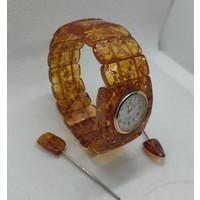 RAV Bursztynowy Zegarek 35,24 gr