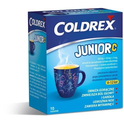 OMEGA PHARMA Coldrex Junior C 10 Saszetek