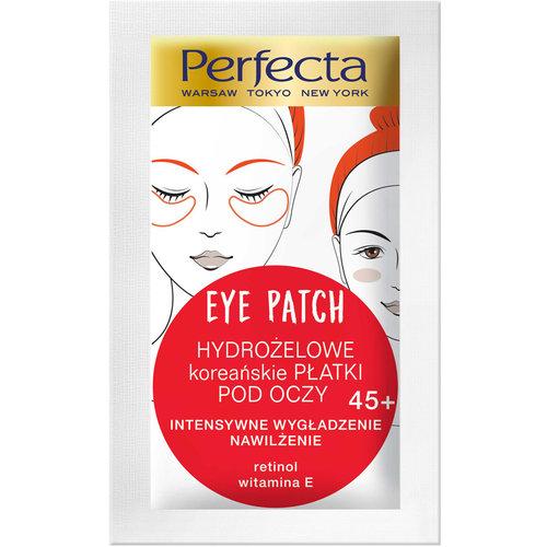 PERFECTA Hydrozelowe Platki Pod 45+ Oczy Retinol Wit E 2 szt