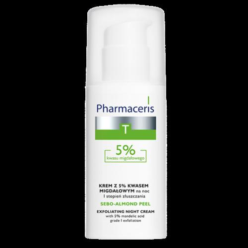 LIRENE Pharmaceris Krem Z 5% Kwasem Migdalowym  Night Cream 50ml