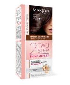 MARION Szampon Koloryzujący 2 Two Step Shine Reflex 401 Brunatny Foxtrot MARION