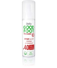 DELIA Good Foot Podology Odświeżający Spray do Stóp 100ml