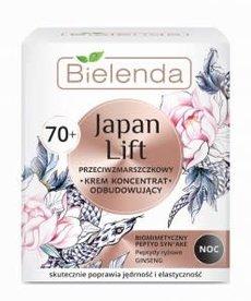 BIELENDA Japan Lift 70+ Przeciwzmarszczkowy Krem Odbudowujący Na Noc 50ml