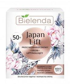 BIELENDA Japan Lift Przeciwzmarszczkowy Krem Liftingujacy 50+ Dzień 50ml