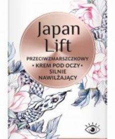 BIELENDA Japan Lift Przeciwzmarszczkowy Krem Pod Oczy Silnie Nawilżający 15ml
