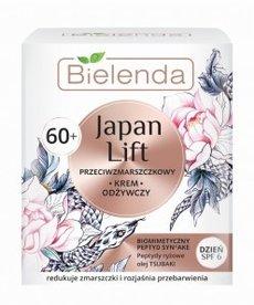 BIELENDA Japan Lift 60+ Przeciwzmarszczkowy Krem Odzywczy Dzien 50ml