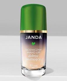 KRYSTYNA JANDA Sceniczny Make-Up Dobrze Matujący 01 Jasny Beż 30ml