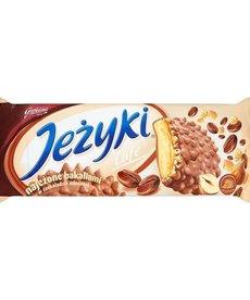 GOPLANA Jeżyki Cafe Herbatniki w czekoladzie mlecznej 140g