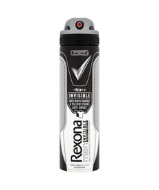 REXONA MEN Antyperspirant Invisible Black & White 150ml