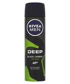 NIVEA MEN  Deep Antyperspirant dla Mężczyzn Black Carbon Amazonia 150ml