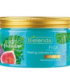 BIELENDA Exotic Paradise Figa Peeling Cukrowy Do Ciała Odżywczy 350g