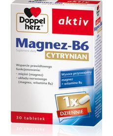 QUEISSER PHARMA Doppelherz aktiv Magnez-B6 Cytrynian 30 tabl.