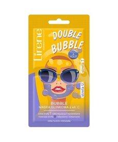 LIRENE Bubble Mask Maska Glinkowa z Witaminą C  5 g + 5 g