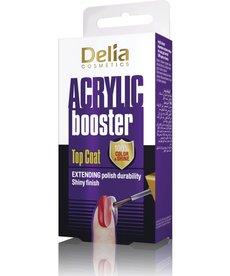 DELIA Acrylic Booster Top Coat Przedłużający Trwałość Lakieru 11ml