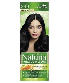 JOANNA Color Naturia Farba do Włosów  243 Czarny Bez