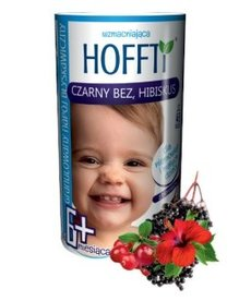 GOLDIM Hoffti Czarny Bez Hibiskus Granulowana Herbatka 180g