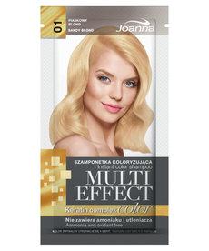 JOANNA Multi Effect Szamponetka Koloryzująca 01 Piaskowy Blond