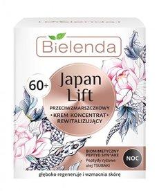 BIELENDA Japan Lift 60+ Przeciwzmarszczkowy Krem Rewitalizujący Noc 50ml