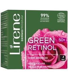 LIRENE Green Retinol 50+ Krem Odżywczy na Noc 50ml