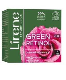 LIRENE Green Retinol 70+ Krem Odbudowujący na Noc 50ml