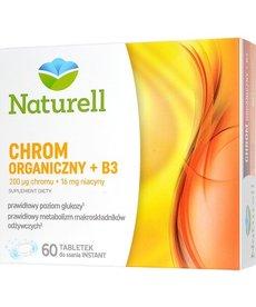 USP ZDROWIE NATURELL Chrom Organiczny + B3 60 tabl do Ssania