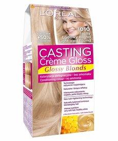 LOREAL Casting Creme Gloss  Farba do Włosów 1010 Jasny Lodowy Blond