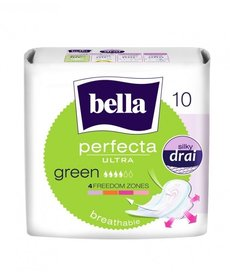 BELLA Podpaski Perfecta Green 10 szt.