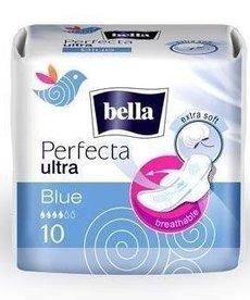 BELLA Perfecta Ultra Blue Podpaski Higieniczne 10szt