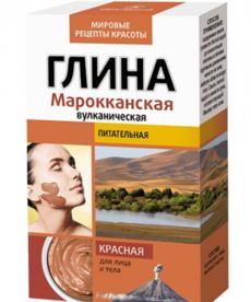 RUSSIAN COSMETICS FITOKOSMETIK Glinka Czerwona do Twarzy i Włosów  100g
