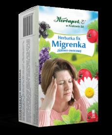 HERBAPOL Herbatka Fix Migrenka 20szt