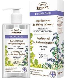 GREEN PHARMACY Green Pharmacy Zel Do Hiegieny Intymnej Kora Debu Szalwia 300ml