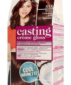 L'OREAL Casting Creme Gloss Farba do Włosów 515 Mrozna Czekolada
