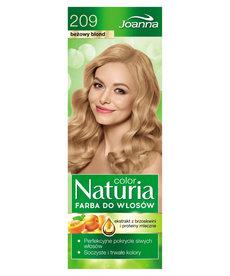 JOANNA Naturia Color Farba do Włosów 209 Beżowy Blond