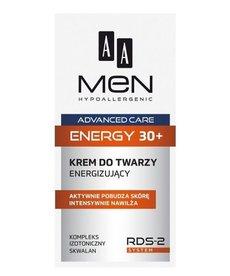AA Men Advanced Care 30+ Krem do Twarzy Energizujący  50 ml