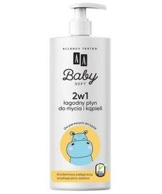 AA Baby  Łagodny Płyn do Mycia i Kąpieli 500ml