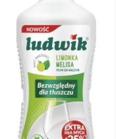 LUDWIK Płyn do Naczyń Limonka Melisa 450g