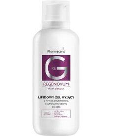 PHARMACERIS G Regenovum Lipidowy Żel Myjący do Ciała Ochrona Mikrobiomu 400 ml