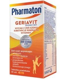 SANOFI-AVENTIS Geriavit Pharmaton 30 kapsułek
