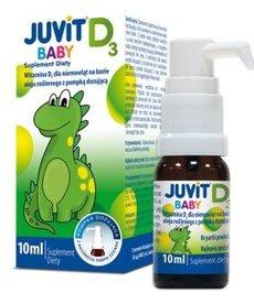 HASCO-LEK JUVIT D3 Baby Krople dla Niemowląt  10ml