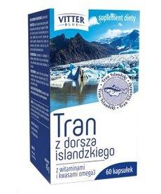Diagnosis Vitter Blue Tran z Dorsza Islandzkiego 60 kapsułek