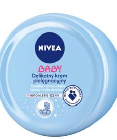 NIVEA BABY Delikatny Krem Pielęgnacyjny do Ciała i Twarzy 200ml